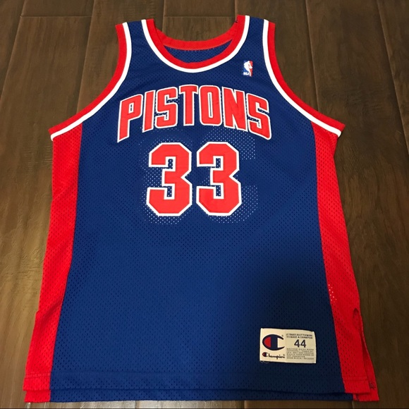 huge discount 762f4 40b64 Authentic Grant Hill Champion Jersey